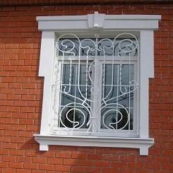 Кованые решетки на окна КР_98