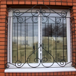 Кованые решетки на окна КР_99