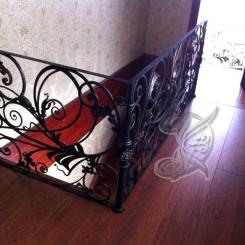 Кованые перила для лестницы КП_30