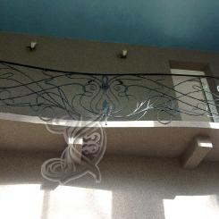 Кованые перила балкона КП_59
