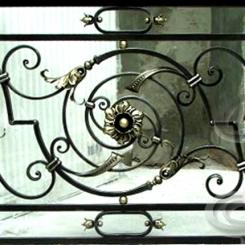 Кованые перила для балкона КП_14