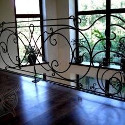Кованые перила для балкона КП_6