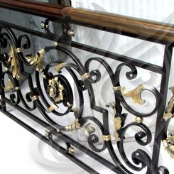 Кованые перила на балкон КП_13