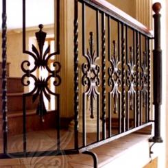 Кованые перила для балкона КП_2
