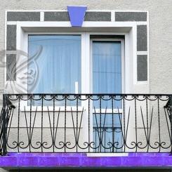 Кованый балкон КБ_7
