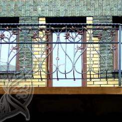 Кованый балкон КБ_8