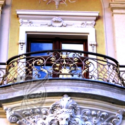 Кованый балкон КБ_6