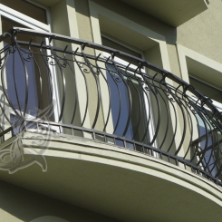 Кованый балкон КБ_11