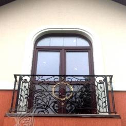 Кованый балкон КБ_20