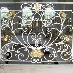 Кованый балкон КБ_22