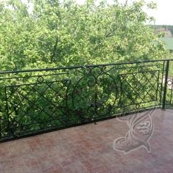 Кованый балкон КБ_25