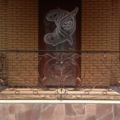 Кованый балкон КБ_27