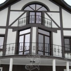 Кованый балкон КБ_24