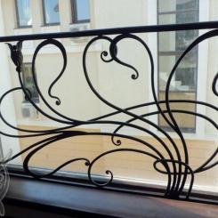 Кованый балкон КБ_29