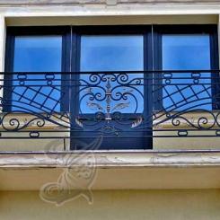 Кованый балкон КБ_3