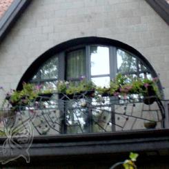 Кованый балкон КБ_1
