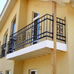 Кованый балкон КБ_101