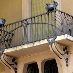 Кованый балкон КБ_104