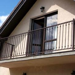 Кованый балкон КБ_108