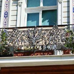 Кованый балкон КБ_111
