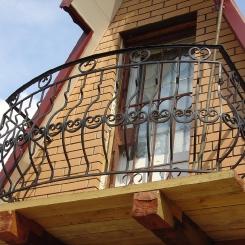 Кованый балкон КБ_113