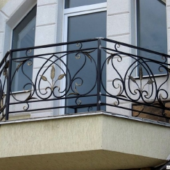 Кованый балкон КБ_114