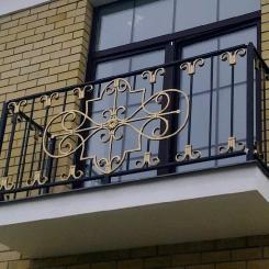 Кованый балкон КБ_116