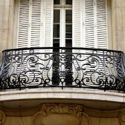 Кованый балкон КБ_36