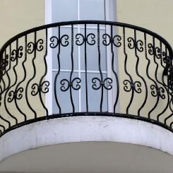 Кованый балкон КБ_37