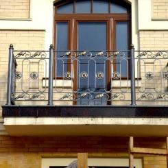 Кованый балкон КБ_44