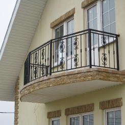 Кованый балкон КБ_50