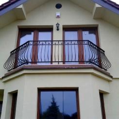 Кованый балкон КБ_52