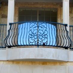 Кованый балкон КБ_54