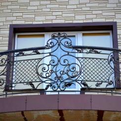 Кованый балкон КБ_58