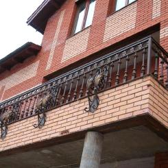 Кованый балкон КБ_64