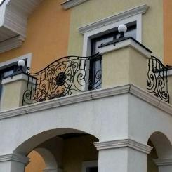 Кованый балкон КБ_65
