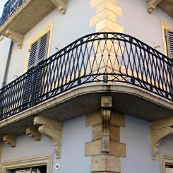 Кованый балкон КБ_72