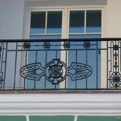 Кованый балкон КБ_73