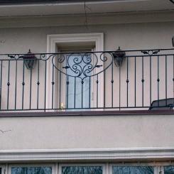 Кованый балкон КБ_74