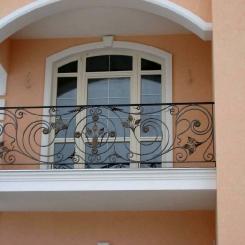 Кованый балкон КБ_75