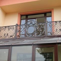 Кованый балкон КБ_80