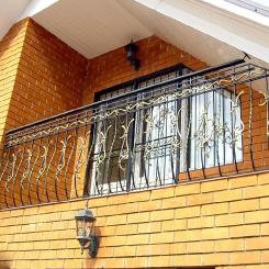 Кованый балкон КБ_84