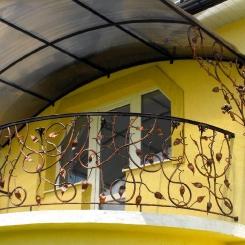 Кованый балкон КБ_87
