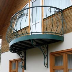 Кованый балкон КБ_88
