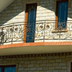 Кованый балкон КБ_92